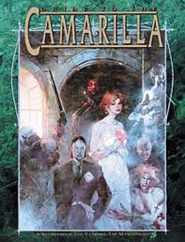 RPGs — Guide to the Camarilla by Richard Dansky