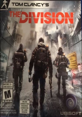 Video Games — Tom Clancy's The Division by Richard Dansky